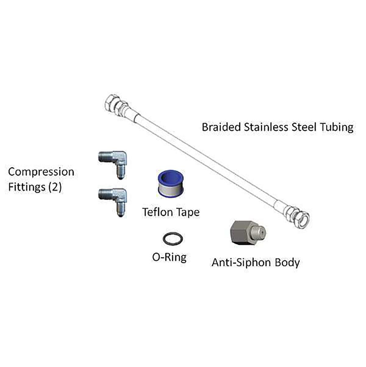 ANTI-SYPHON KIT FOR 700 / 300 SERIES PUMPS